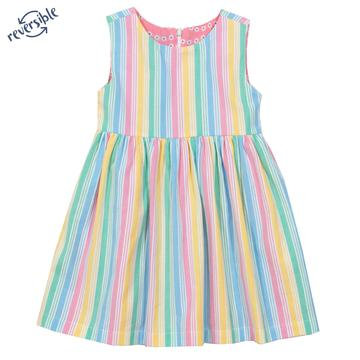 Kite Wavy Daisy Reversible dress