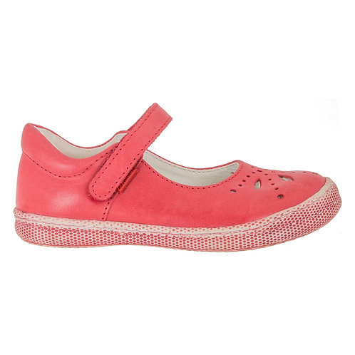PRIMIGI Kiss Red Mary Jane Rip Tape Casual Shoe