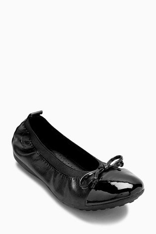 Geox Piuma Ballerina Slip On School Shoe