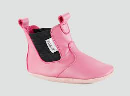 Bobux Chelsea Leather Pram Shoe Pink
