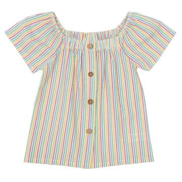 Kite Seersucker Blouse Multi Stripe
