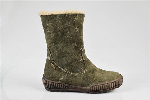 Primigi Olive Waterpoof Fur Lined Boot