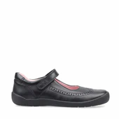 Startrite Spirit black shoe
