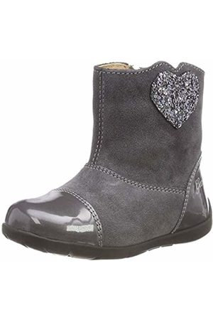 Geox Kaytan Grey Heart Glitter Boot