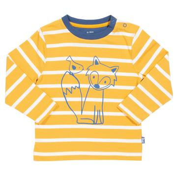 Kite Little Cub mustard T-shirt