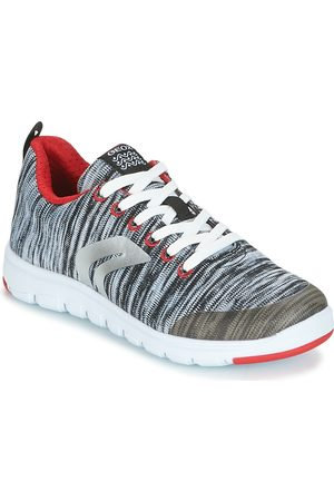 Geox Xunday Lace Up Memory Foam Trainer