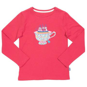 Kite Pink Cutty Sark Long Sleeve T-shirt