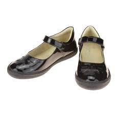 Primigi Clemence Black Patent school shoe