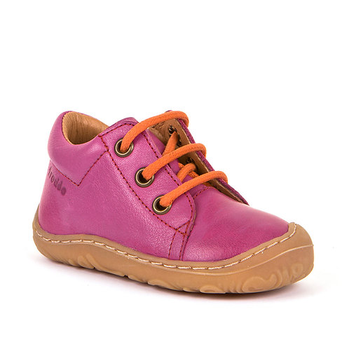 Froddo pink lace up  shoe