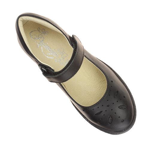Primigi Clemence Black school shoe