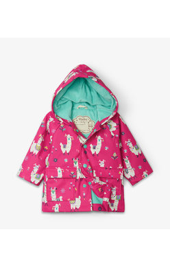 Hatley Pretty Alpaca Raincoat