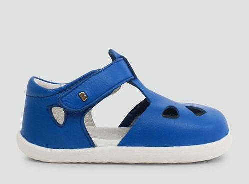 Bobux Zap Step-Up Sapphire Blue Enclosed Sandal