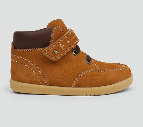 Bobux Timber Caramel Tan Nu buck Leather Boots