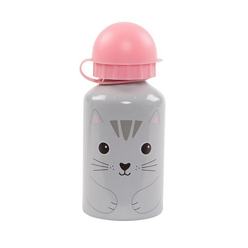 Sass & Belle Nori Cat Water Bottle