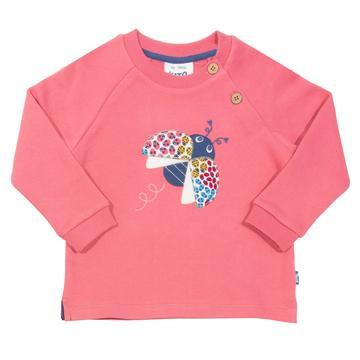 Kite Ladybird Sweatshirt pink