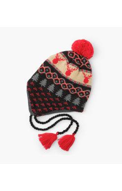 Hatley Fair Isle Fleece lined hat