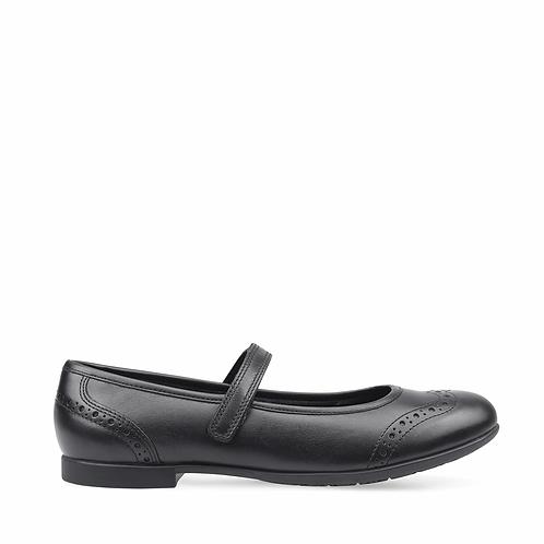 Startrite Impress Black leather school shoe