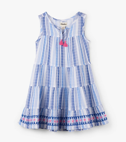 Hatley Star Trim dress