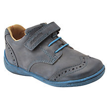Start-rite Super Soft Hugo Navy Blue Rip Tape Shoe