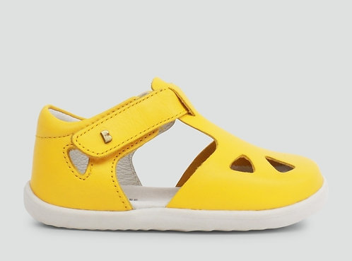 Bobux Zap Step-Up Yellow Enclosed Sandal