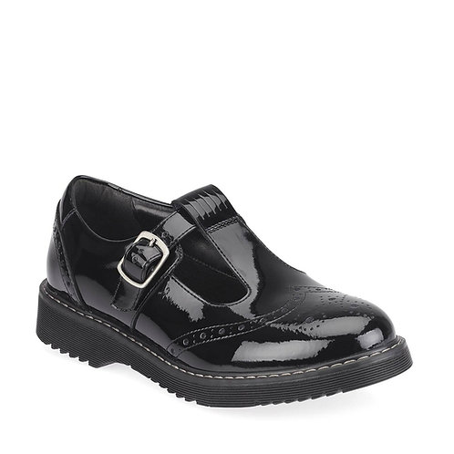Startrite Imagine black patent school shoe