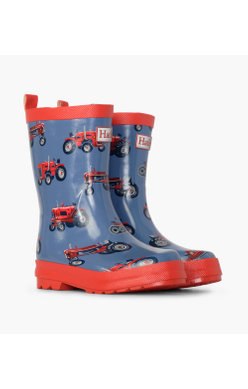 Hatley Vintage Tractor Welly
