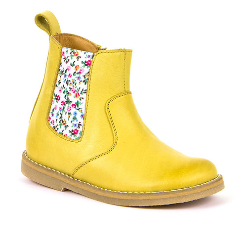 Froddo Yellow Ankle boot