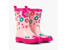 Hatley scattered flowers welly