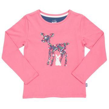 Kite Little Deer pink T-shirt