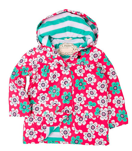 Hatley Daisies Raincoat