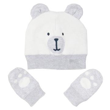 'Kite' Beary hat and Mittens
