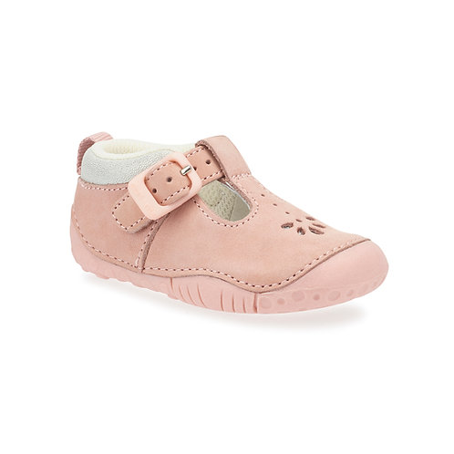 Start-Rite Baby Bubble Pink Nubuck Prewalker