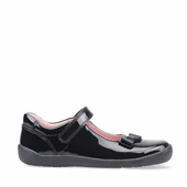 Startrite Giggle Black Patent shoe