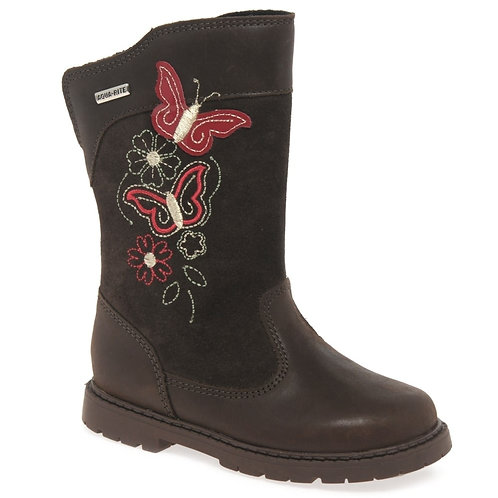 Start-rite Aqua Butterfly Brown Boot