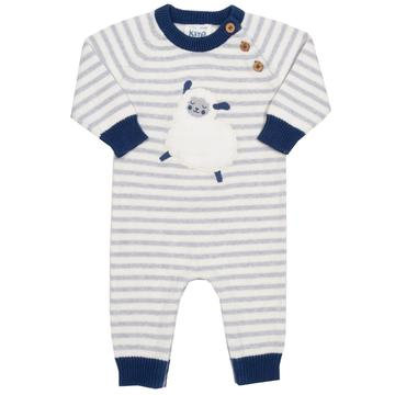 Kite Sheep knit sleepsuit