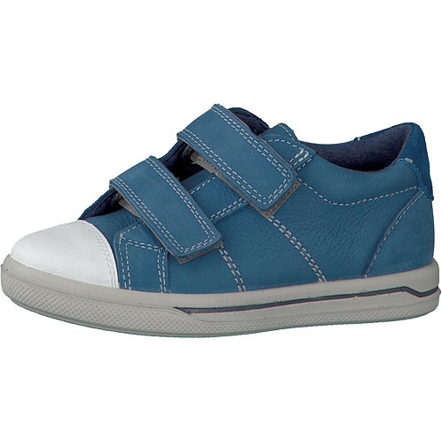 Ricosta Jason Blue Jeans Leather Casual Shoe