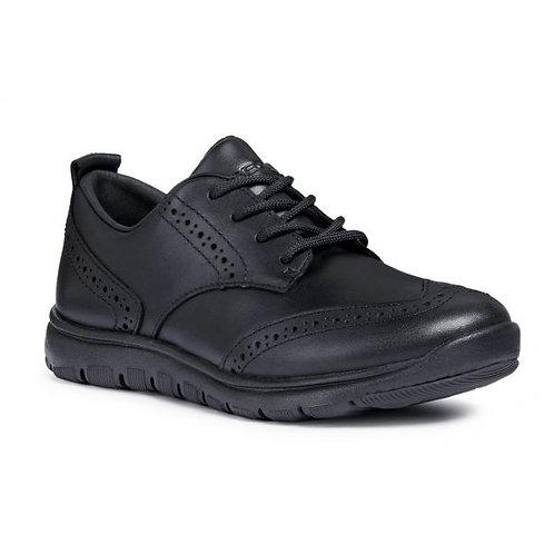 Geox Xunday Lace School Shoe