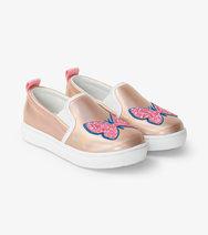 Hatley Butterflies Shimmer Sneaker