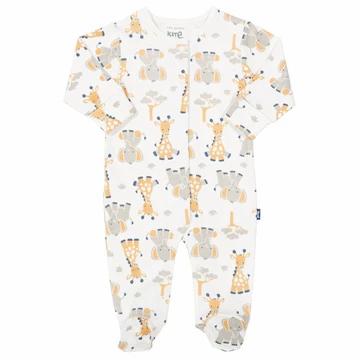 Kite Elephant & Giraffe Sleepsuit