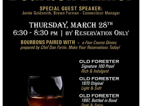 Old Forester Bourbon Dinner!