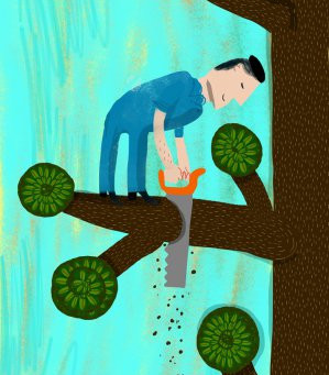 Stressful Times Lead to Self-Destructive Behaviors