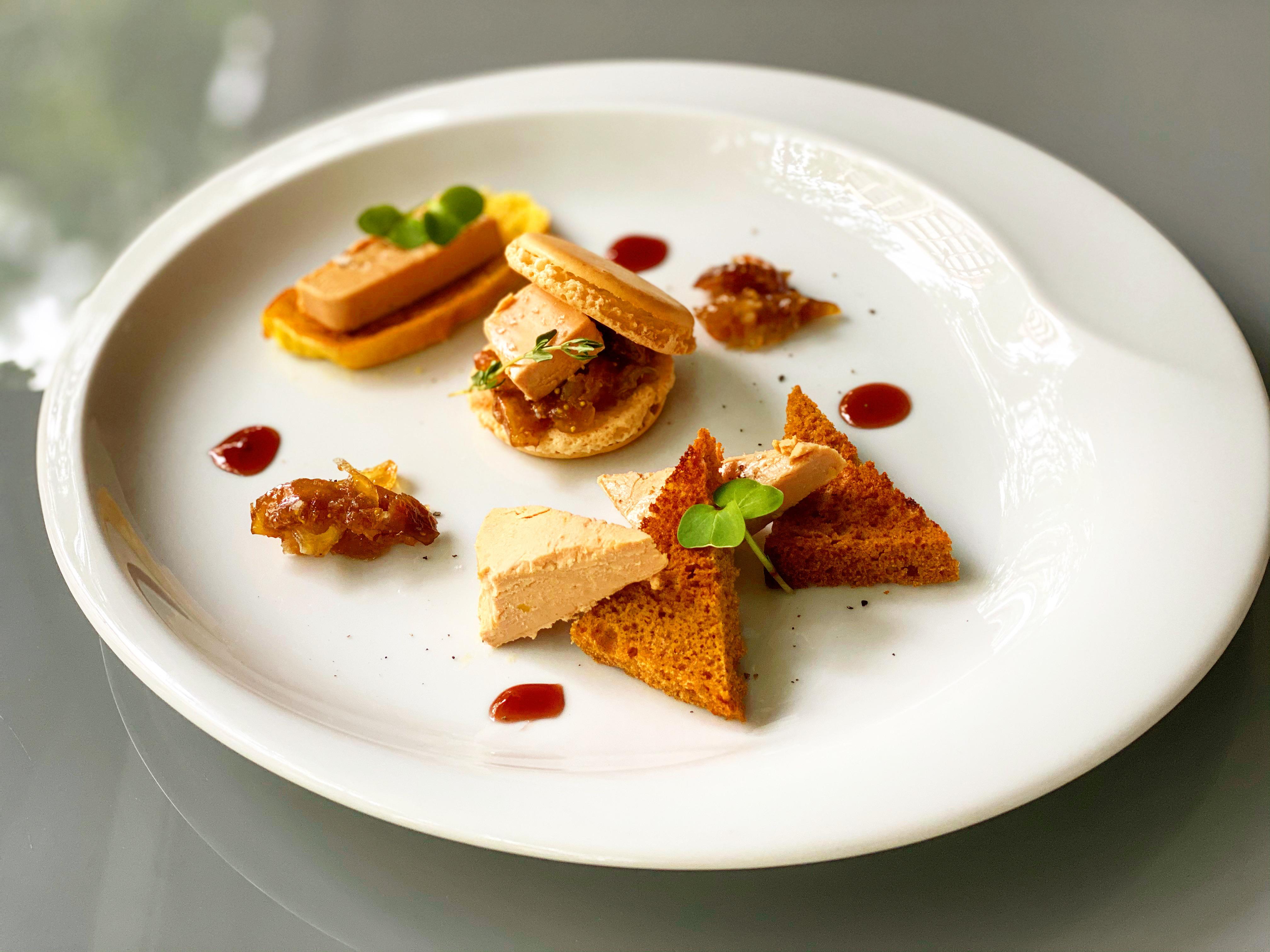 Foie Gras in 3 flavours