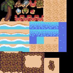 Beach Tileset