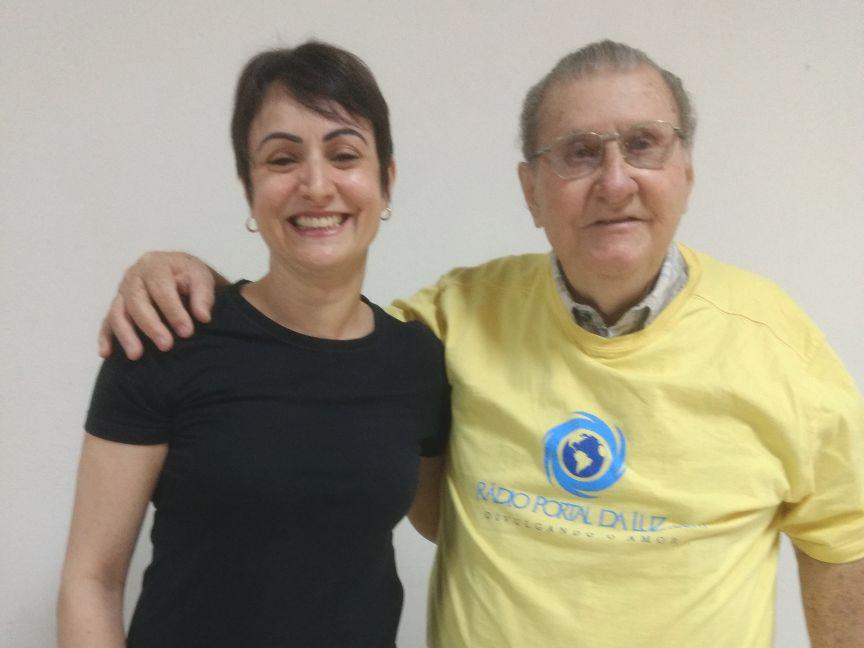 Vanessa Cristina e Hélio Dias