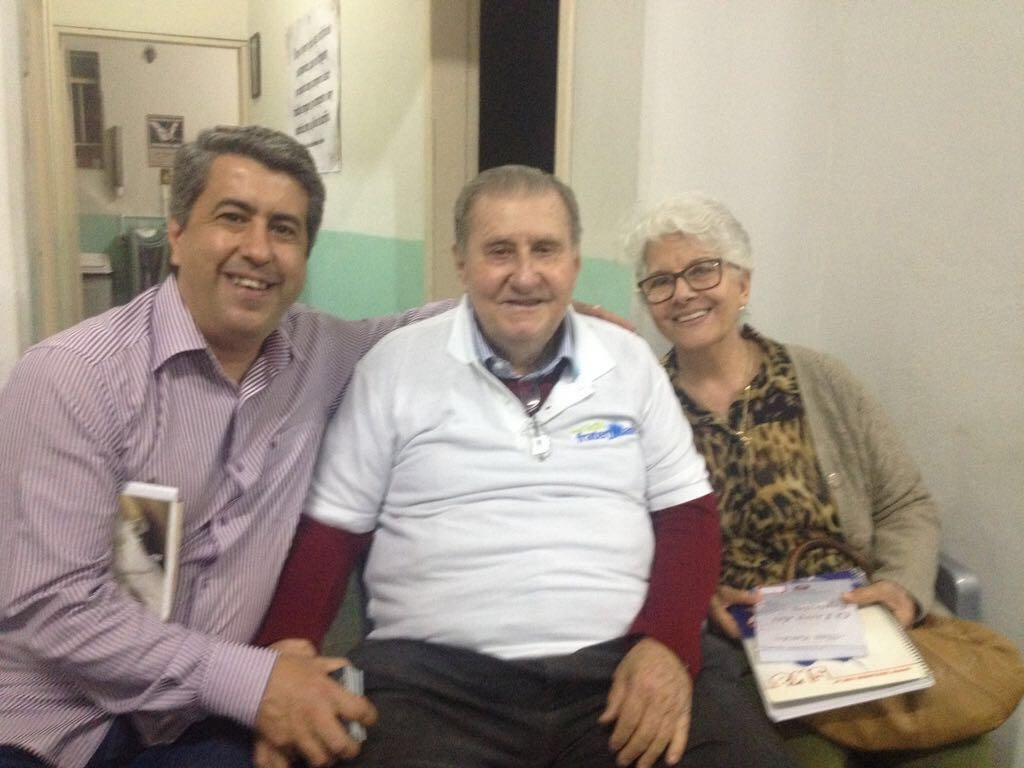 Lauro Marcelo, Hélio e Elaine Alves