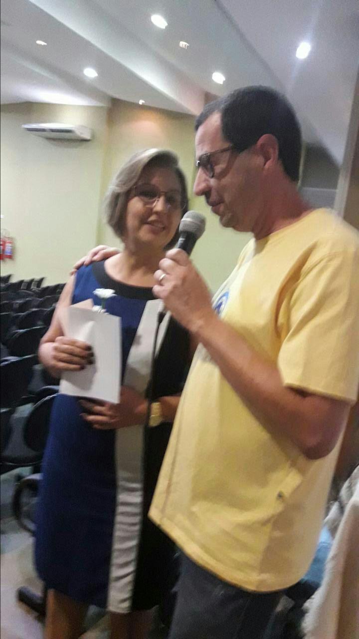 Cleide e Luiz Domingues