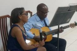 Carlos e sua filha Jéssica