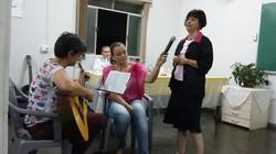 Maria José, Andréa e Aline Bahia