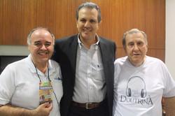 Rubens, Alberto Almeida e Hélio Dias