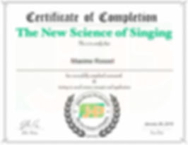 John Henny The new science of singing certification